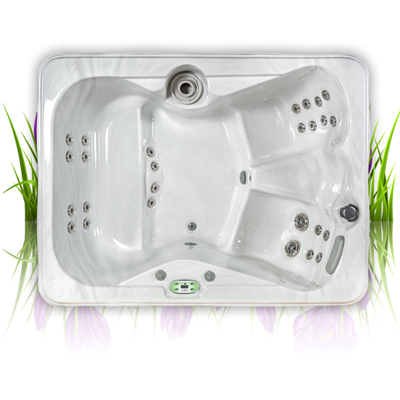 Iris Spa in our Garden Spa range
